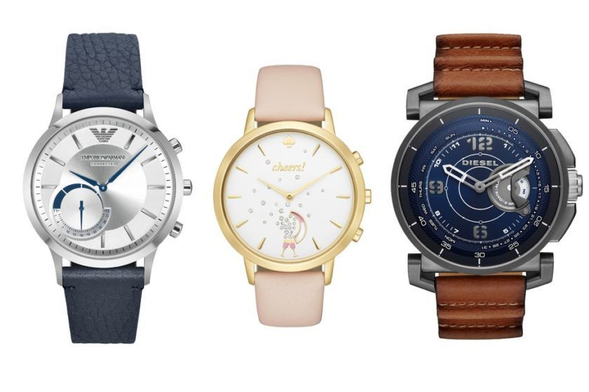 Diesel, Armani et Kate Spade : les montres connectées hybrides font leur apparition