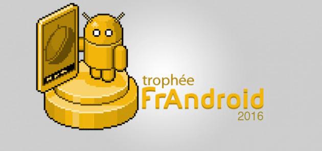 Trophée FrAndroid 2016 : il est temps de voter pour les meilleurs smartphones de l'année