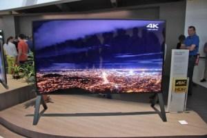 Sony ZD9 : 100 pouces de diagonale sous Android TV