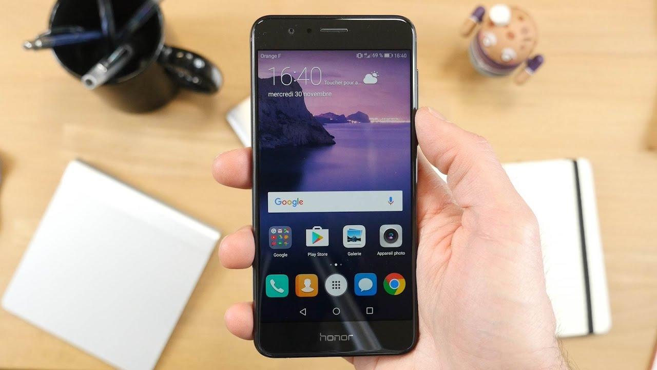 Honor 8 : la mise à jour vers Android 7 Nougat (EMUI 5.0) disponible d'ici deux mois