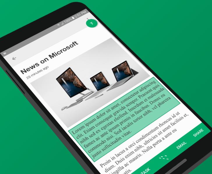 Avez-vous un problème avec le copier/coller sur Android ? Microsoft, oui !