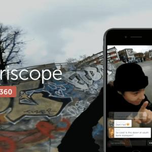 Periscope supporte désormais les vidéos à 360 degrés sous Android