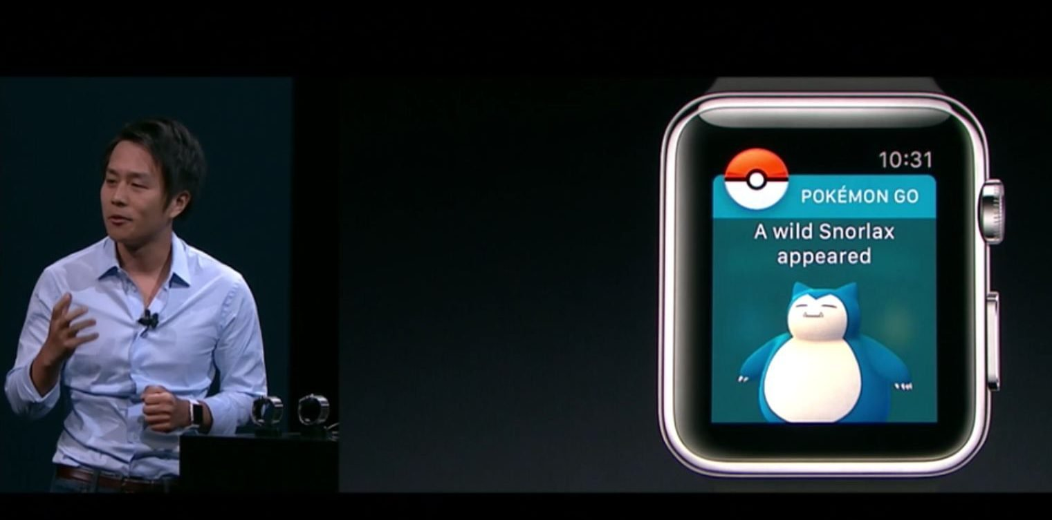 Pokémon GO finalement disponible sur l'Apple Watch
