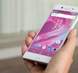 Sony Xperia X et X Compact : Nougat est en cours de déploiement en France