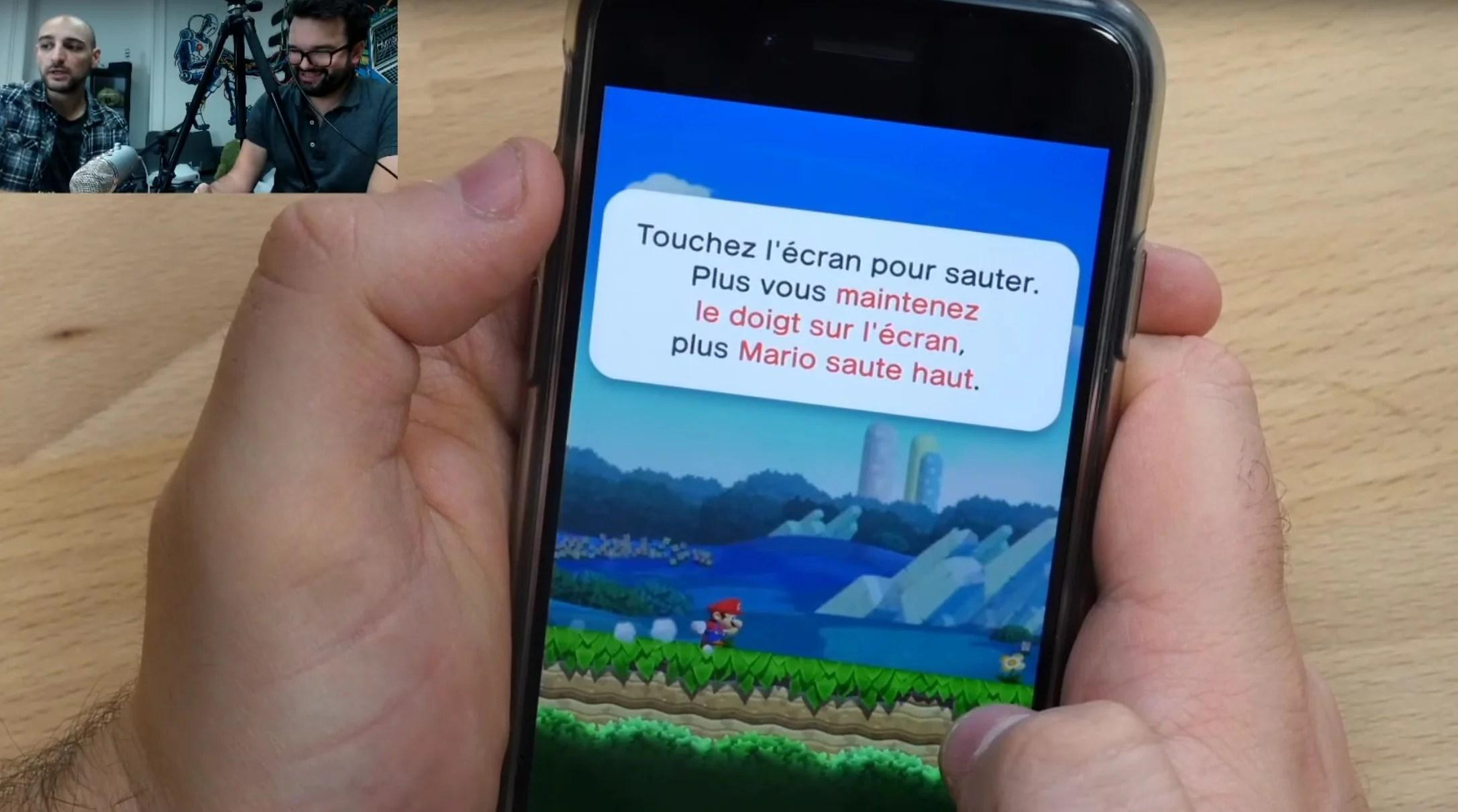 Tech'spresso : Super Mario Run, Facebook Live et les comptes iCloud volés