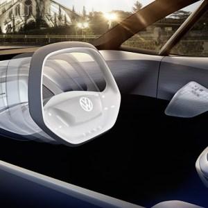 Volkswagen va dévoiler une voiture autonome au volant rétractable