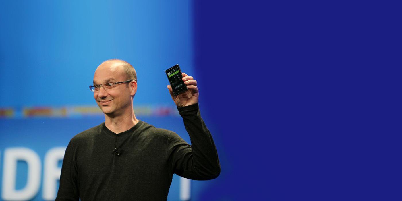 Andy Rubin, fondateur d'Android, prépare son grand retour dans le smartphone