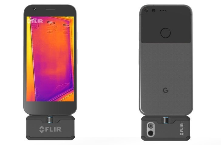 CES 2017 : FLIR lance un capteur thermique pour smartphones avec USB Type-C
