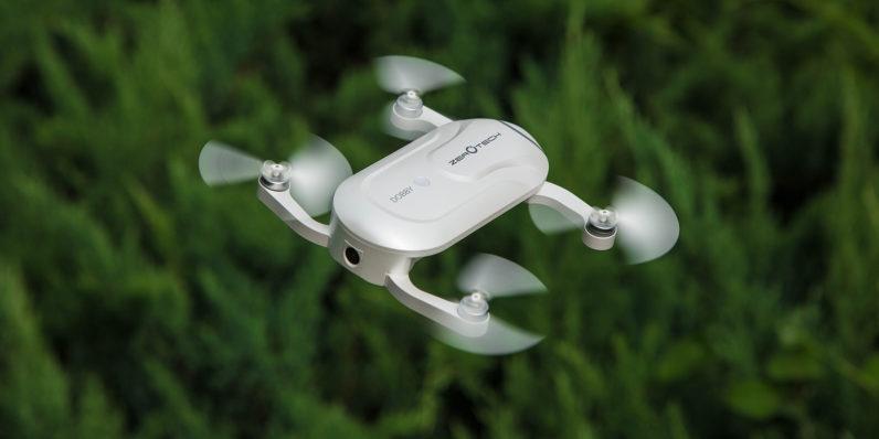 CES 2017 : Le Dobby, un drone poids plume à emporter partout