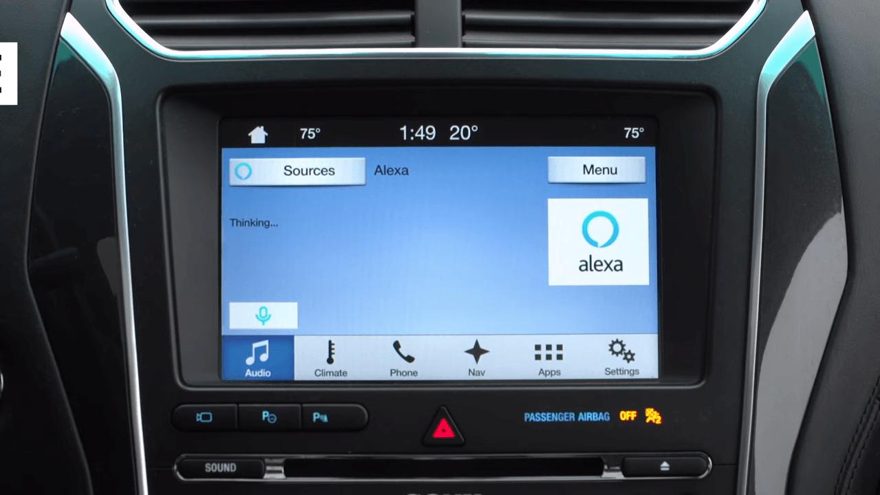 CES 2017 : Amazon Alexa arrive sur les voitures de Ford