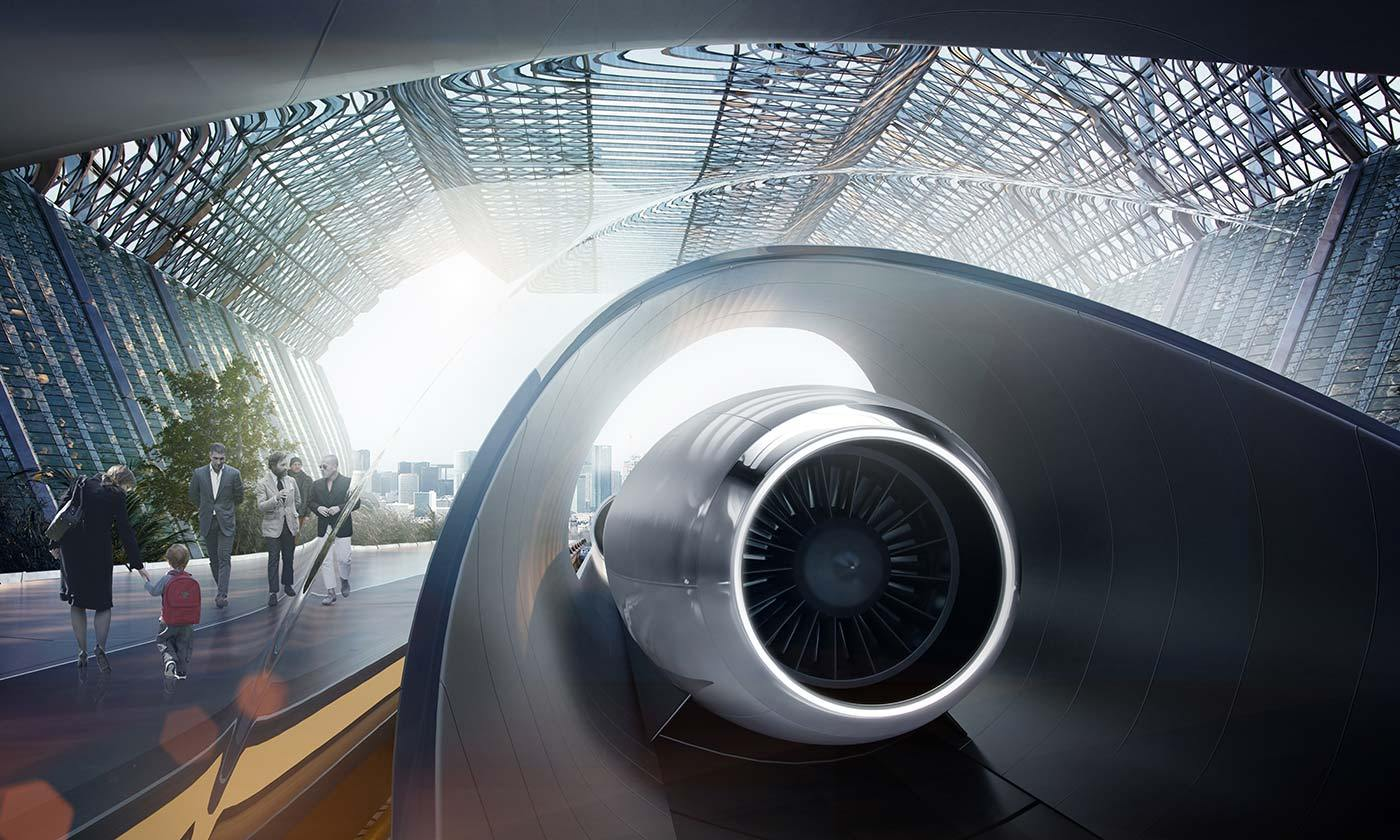 Hyperloop prend ses quartiers à Toulouse pour tester son transport du futur
