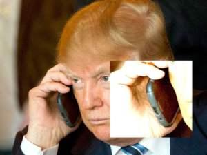 Donald Trump a encore négligé la sécurité avec son Samsung Galaxy S3