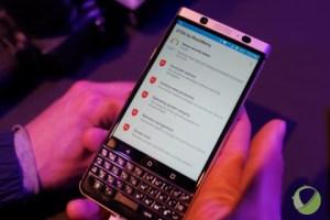 Blackberry KEYone : nos premières impressions en vidéo