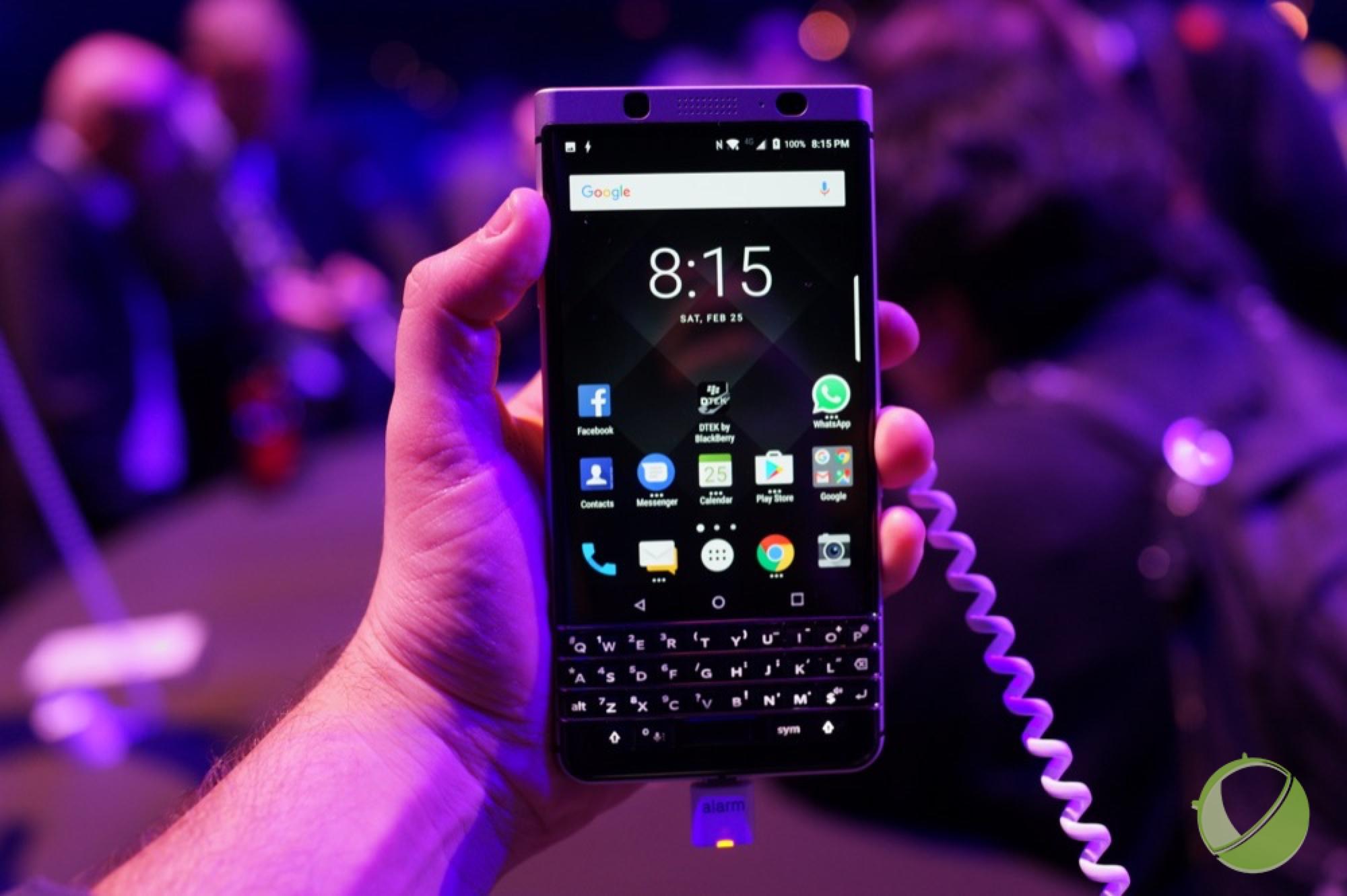 Prise en main du BlackBerry KEYone, la marque et le clavier légendaires sont de retour