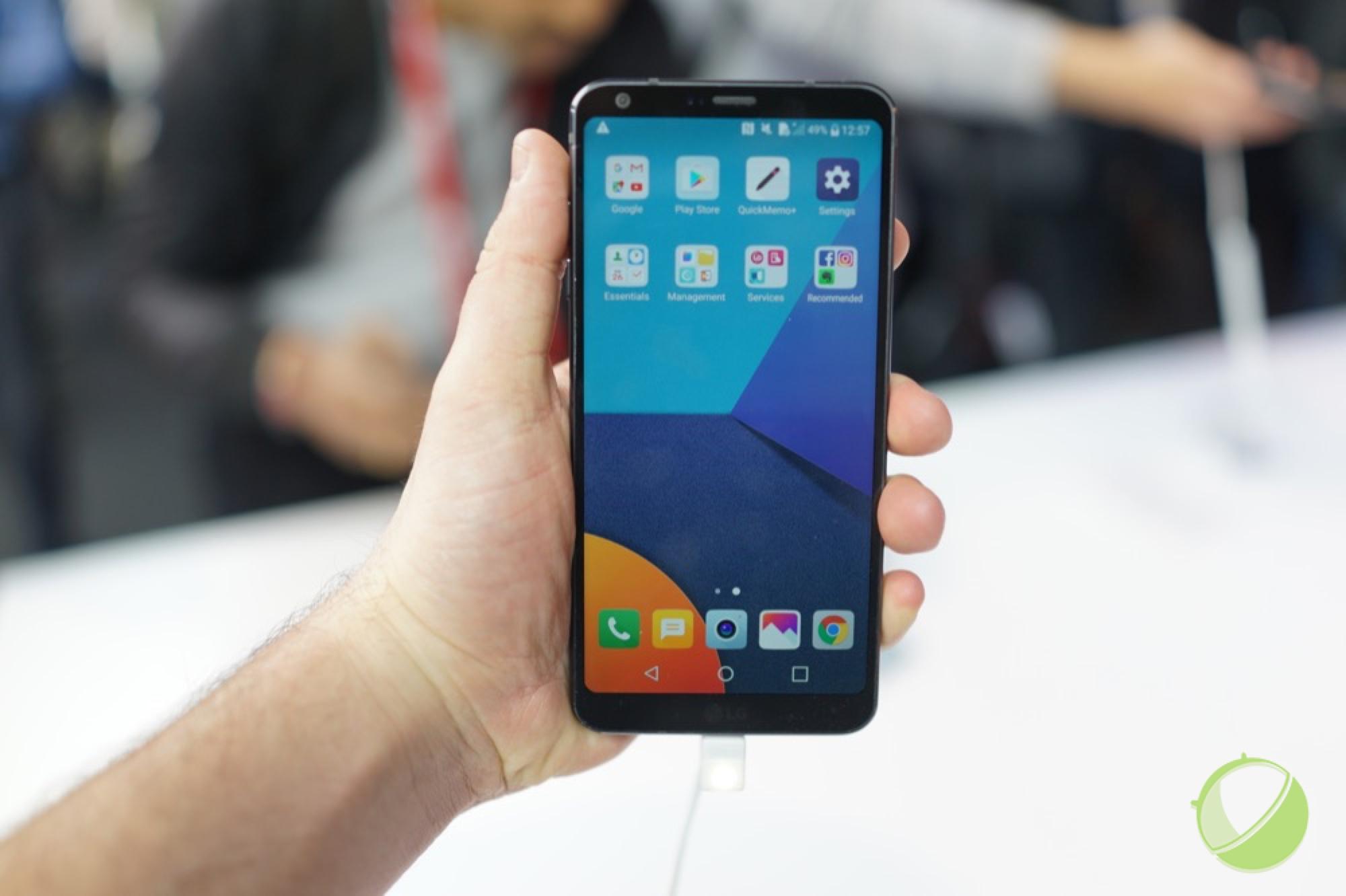 Prise en main du LG G6, le constructeur coréen mise sur l'écran et le double capteur photo