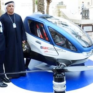 Dubaï va accueillir les voitures volantes avec l'EHang 184