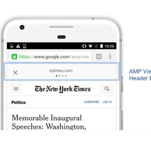 Google AMP permet désormais d'afficher et de partager les liens originaux