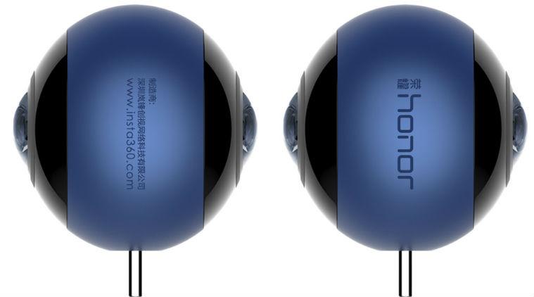 Honor VR Camera : un accessoire pour filmer à 360 degrés développé avec Insta360