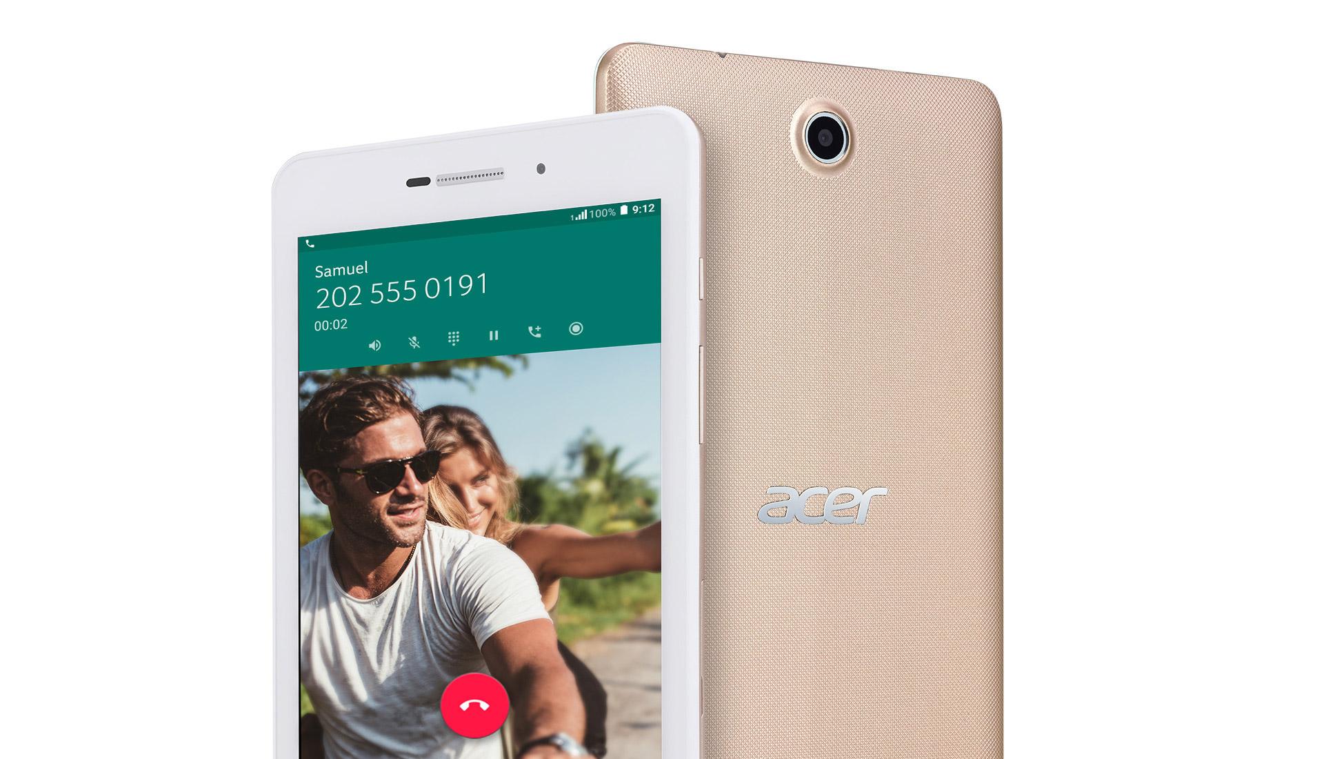 MWC 2017 : Acer Iconia Talk 7, une tablette qui téléphone
