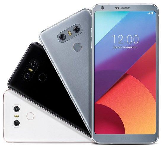 LG G6 : trois coloris très sobres sont prévus