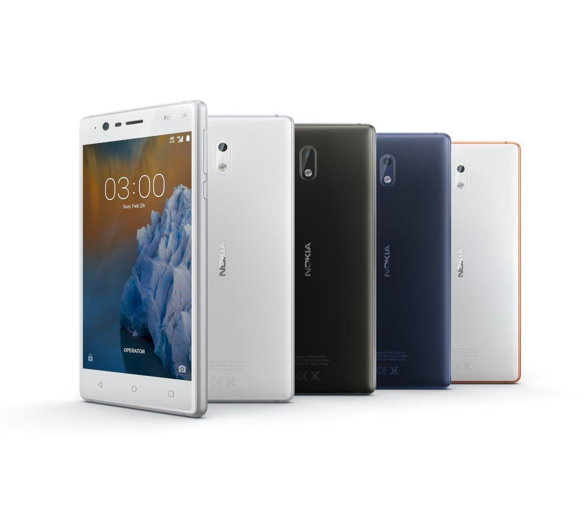 Le Nokia 3 aura Android 7.1.1 avant les flagships de certains concurrents