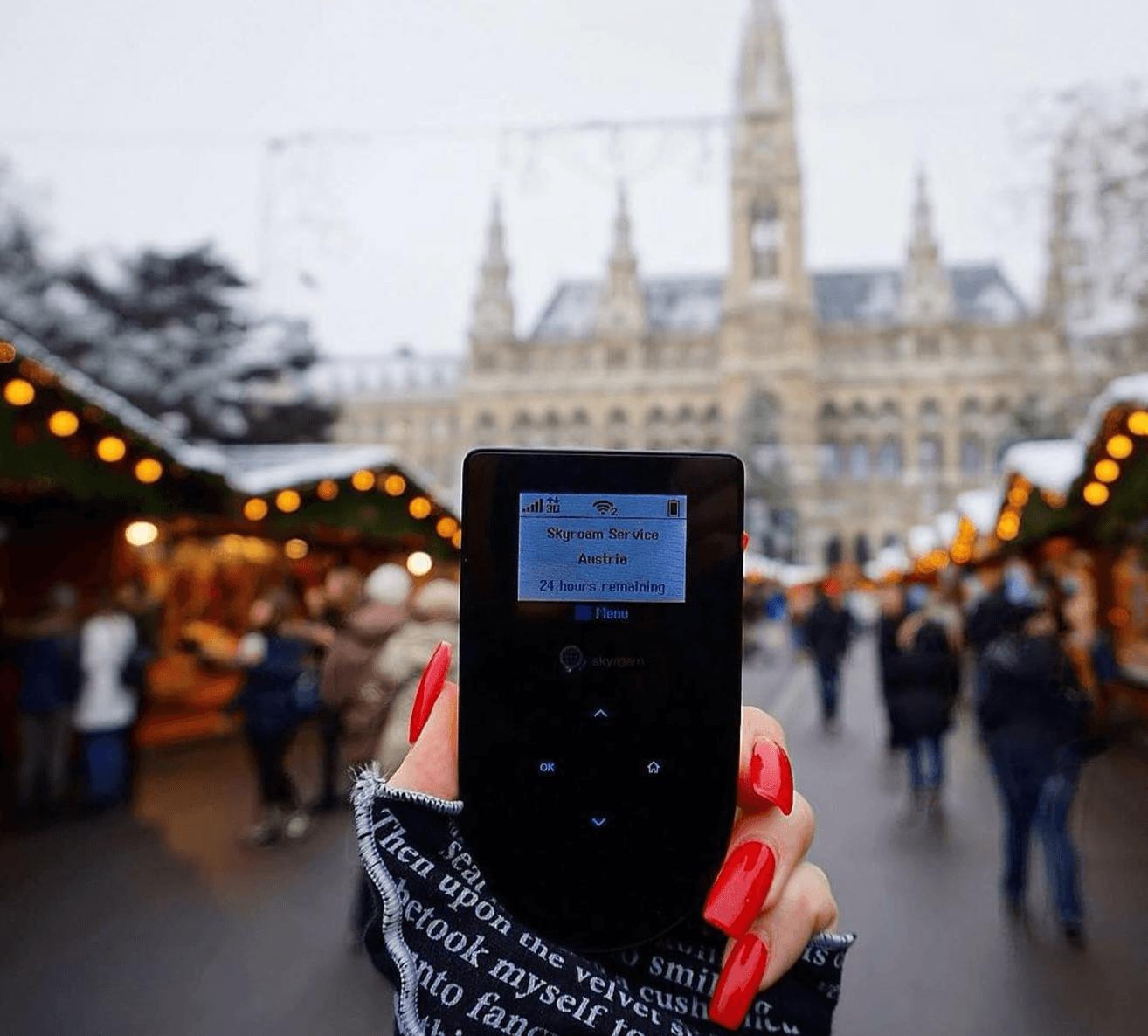 Skyroam, le routeur WiFi à 8 dollars par jour pour voyager à l'étranger avec de la 4G