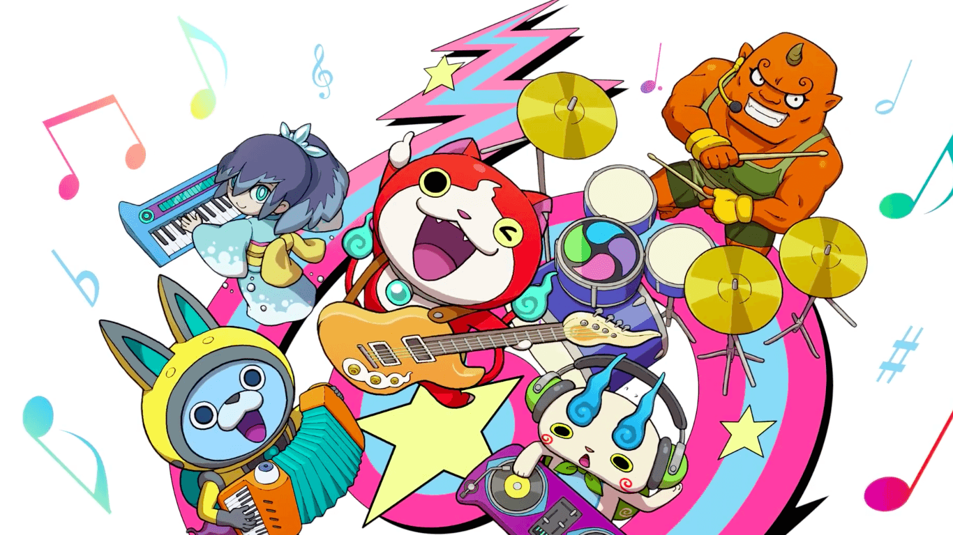 Les jeux mobiles Yôkai Watch Gerapo Rhythm et The Snack World sont repoussés