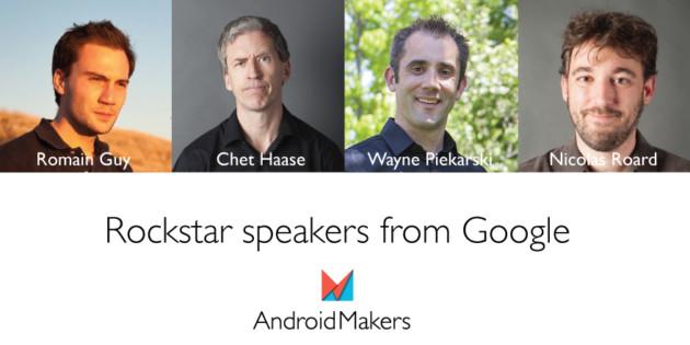 Concours : remportez vos places pour le salon Android Makers !