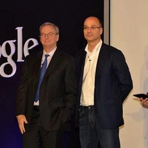 Pour l'ancien patron de Google, le smartphone d'Andy Rubin sera «phénoménal»