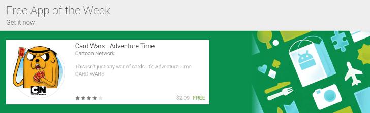 Le Google Play Store propose une app gratuite par semaine… mais n'en parle pas