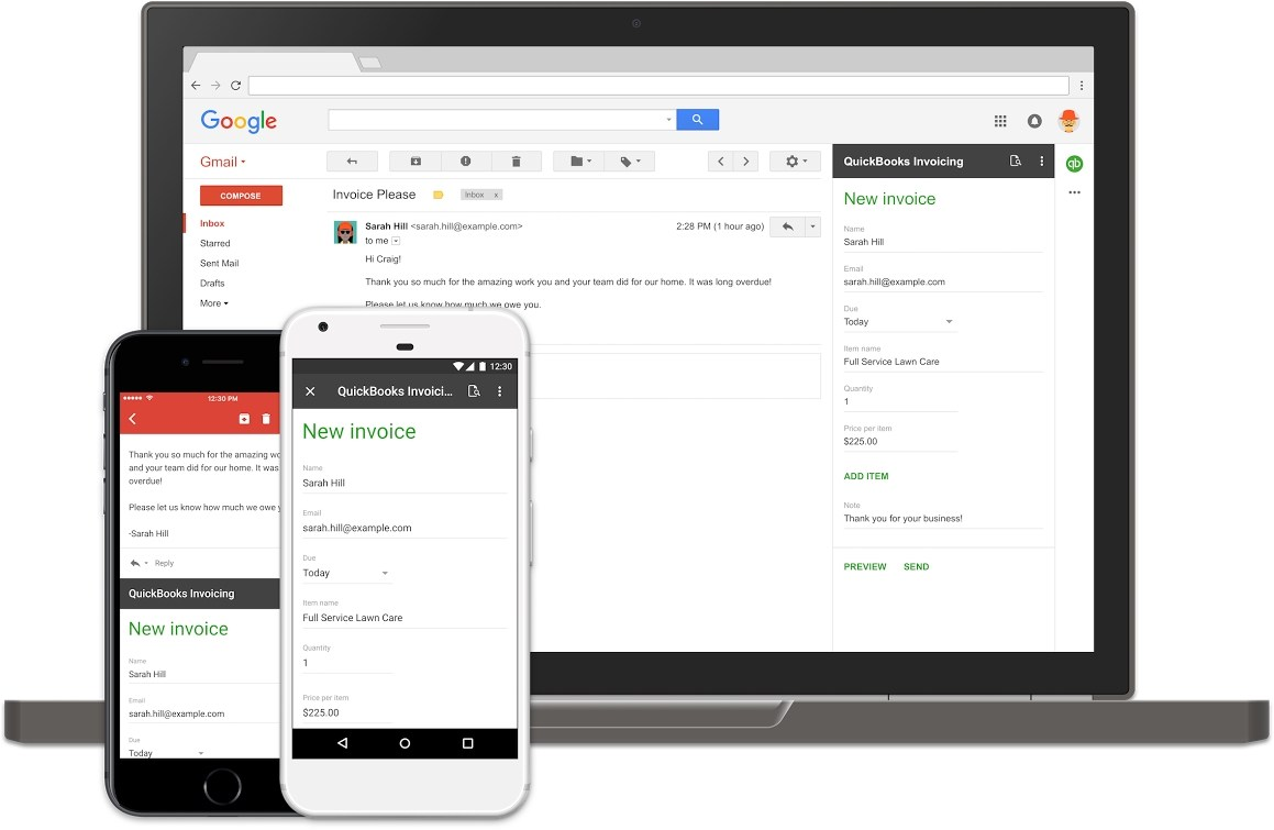 Gmail : Google va ajouter des extensions à son service de mail