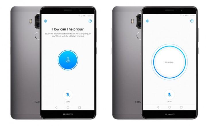Huawei Mate 9 : Amazon Alexa est disponible, mais bridé par Android
