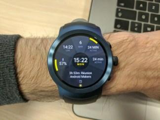 Deux semaines avec la LG Watch Sport et Android Wear 2.0