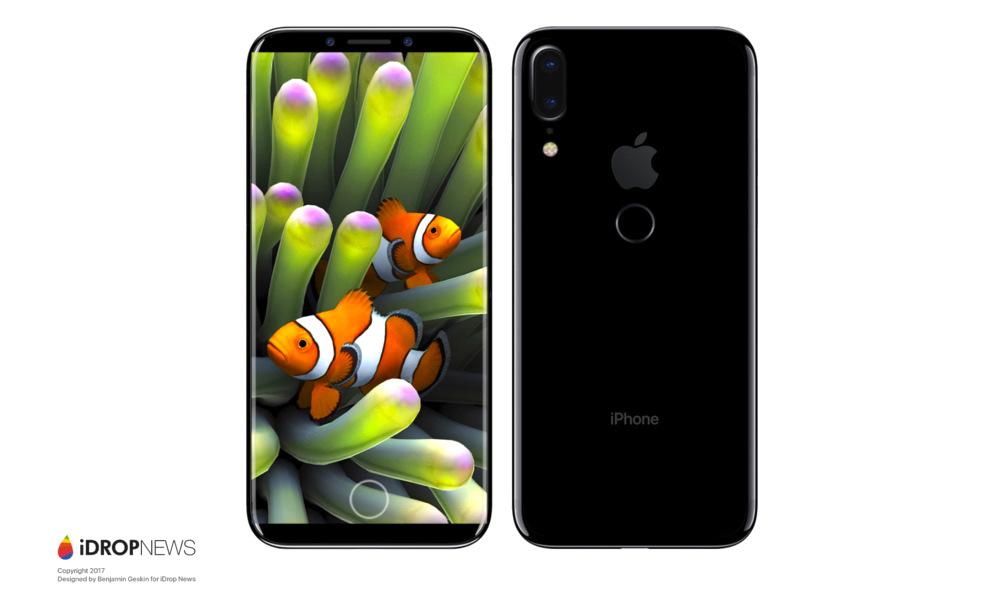Et si l'iPhone 8 ressemblait au Samsung Galaxy S8 ?