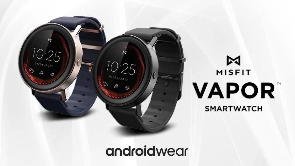 Misfit Vapor : une montre Android Wear très complète cet été