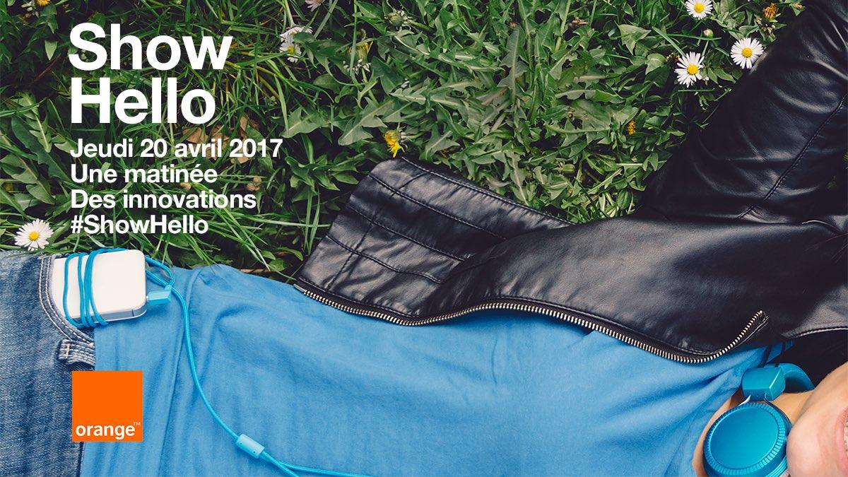 Show Hello : Orange présentera des nouveautés en avril