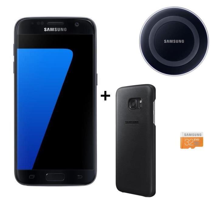 🔥 Bon plan : Samsung Galaxy S7 Noir + Pad à induction + Carte SD 32 Go à 439 euros sur Cdiscount