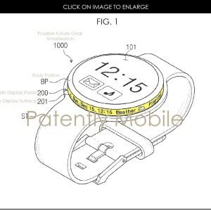 Samsung : un brevet dévoile une montre connectée avec un écran rotatif