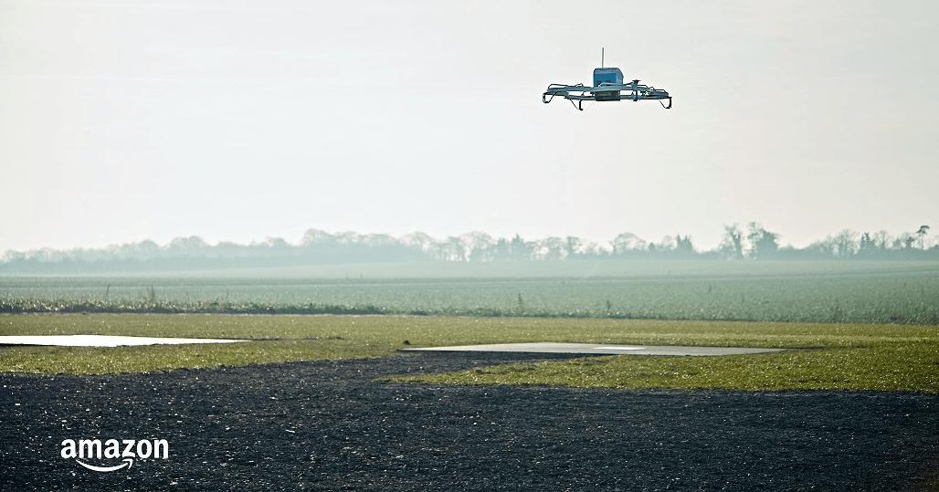 Amazon réalise sa première livraison par drone aux États-Unis