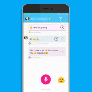 Cette application ? retranscrit vos messages vocaux en emojis ?