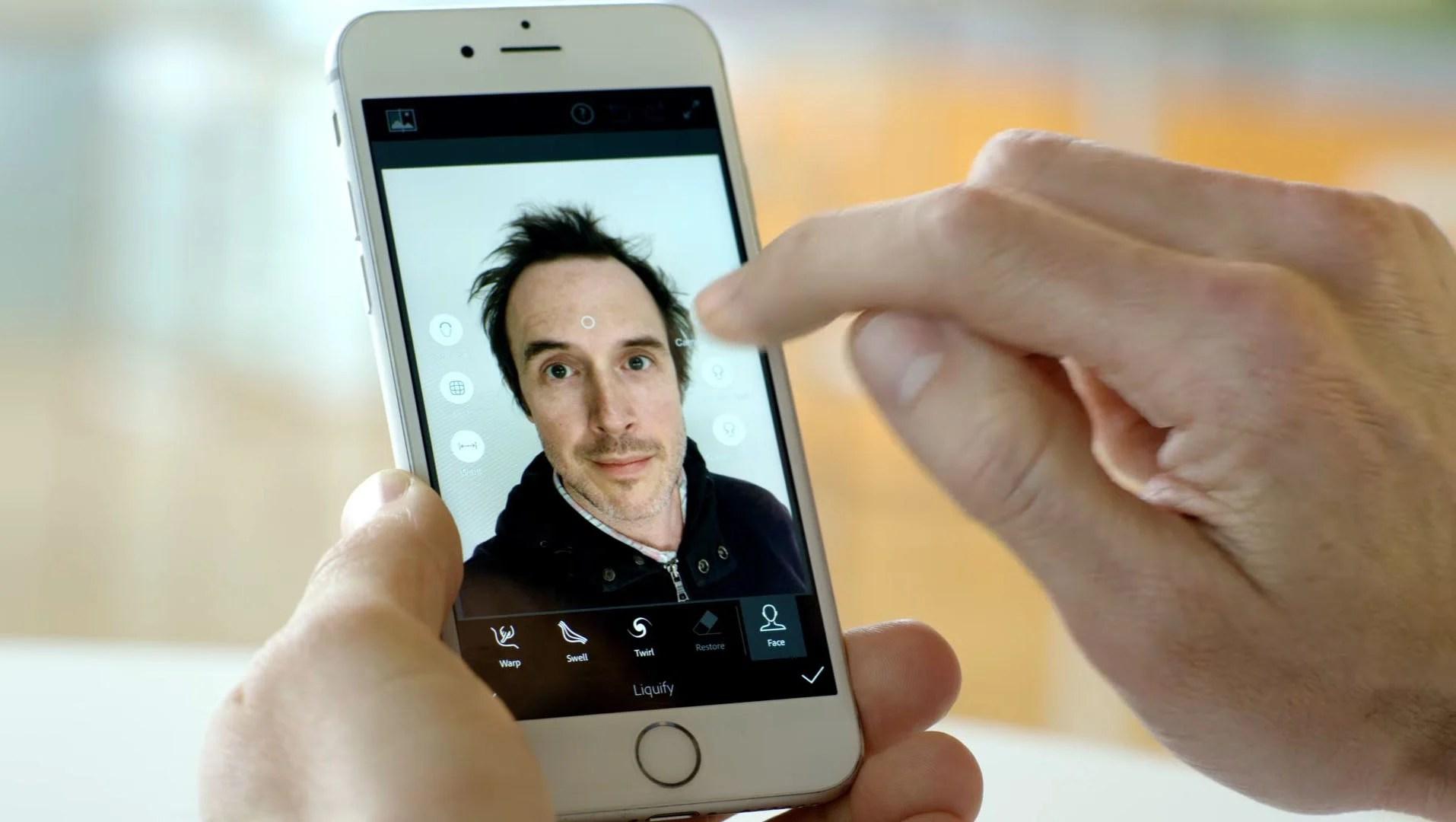 Adobe veut casser le selfie-game avec des retouches faciles et puissantes