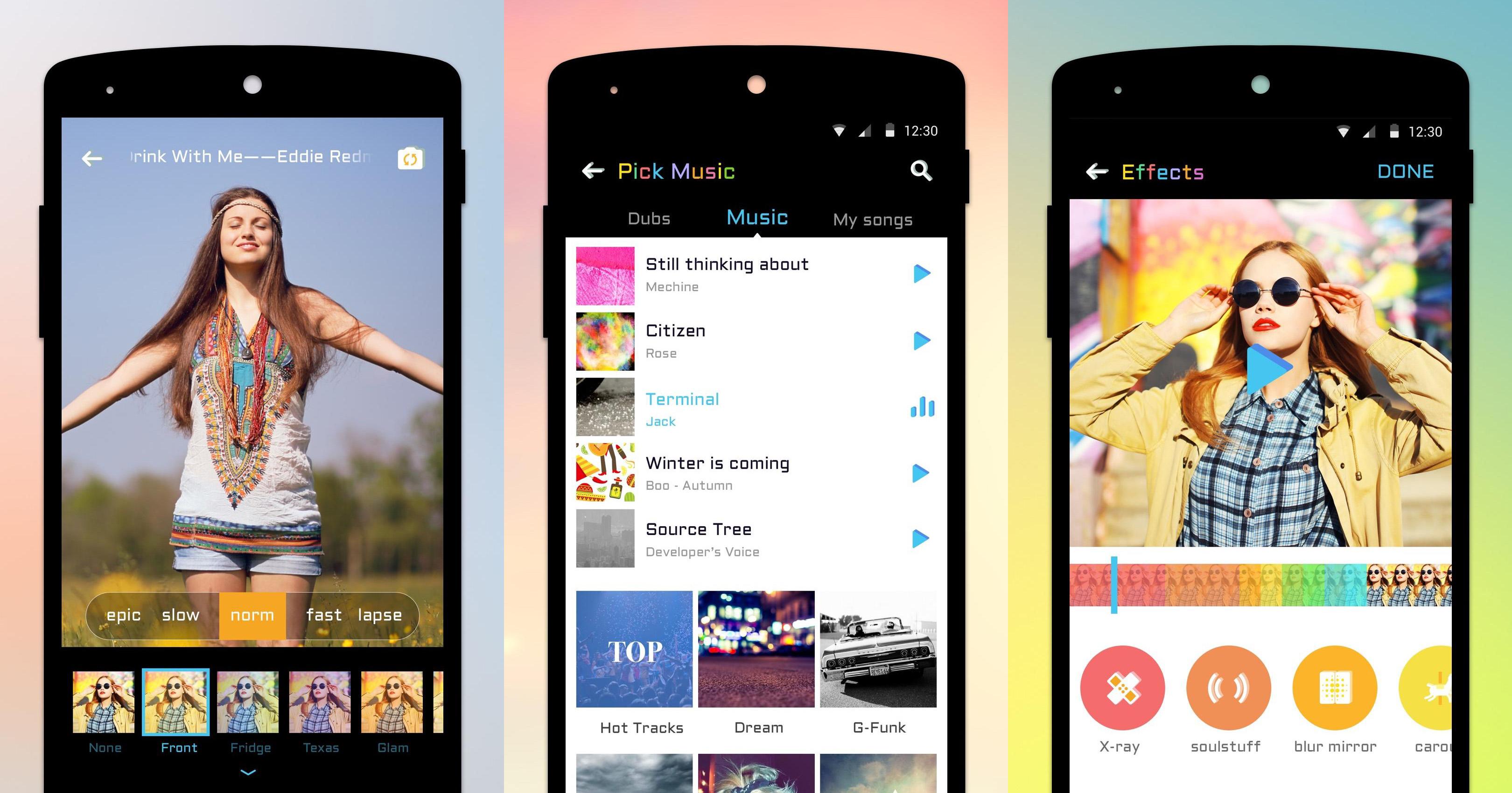 5 alternatives à Apple Clips pour Android
