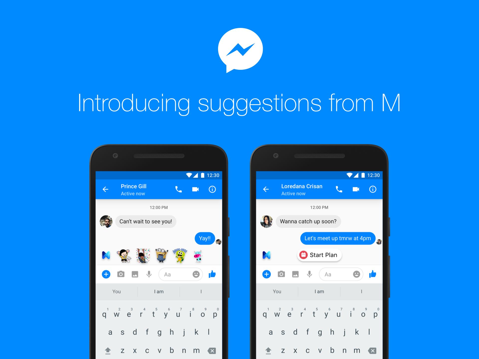 Facebook lance M, son assistant virtuel