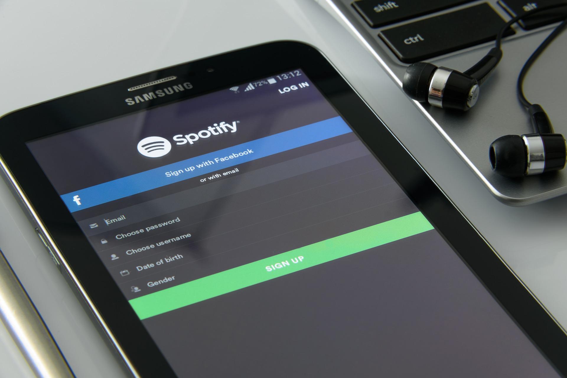 Spotify serait en train de préparer son propre objet connecté
