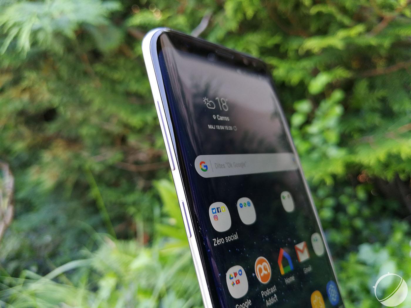 Samsung préparerait des écrans incurvés sur 4 bords recouvrant 98 % de la façade
