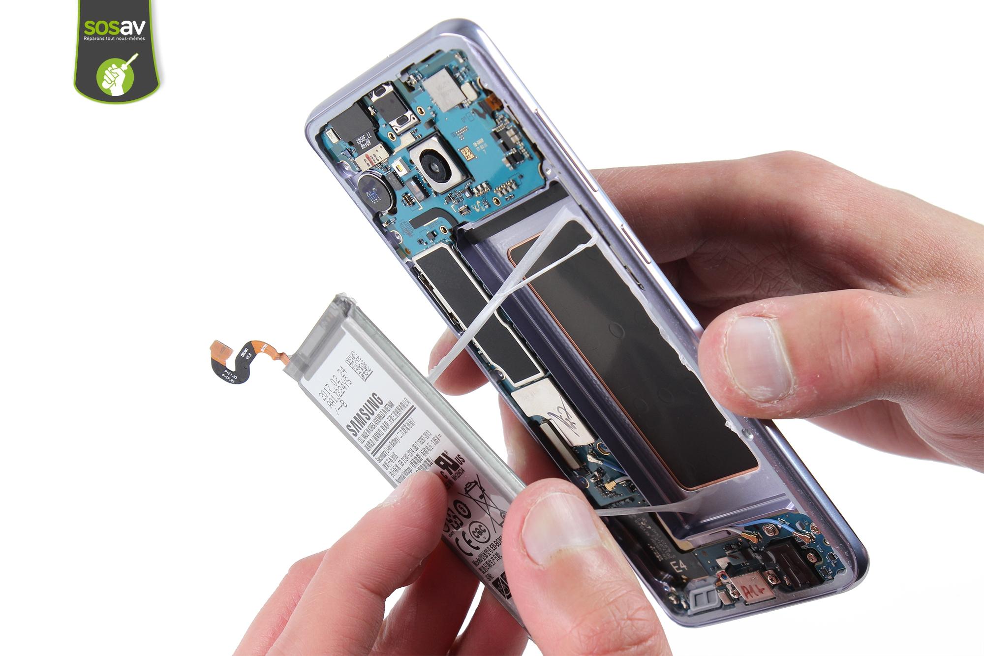 Finalement, la batterie du Galaxy S8 ne sera «pas si difficile» à remplacer
