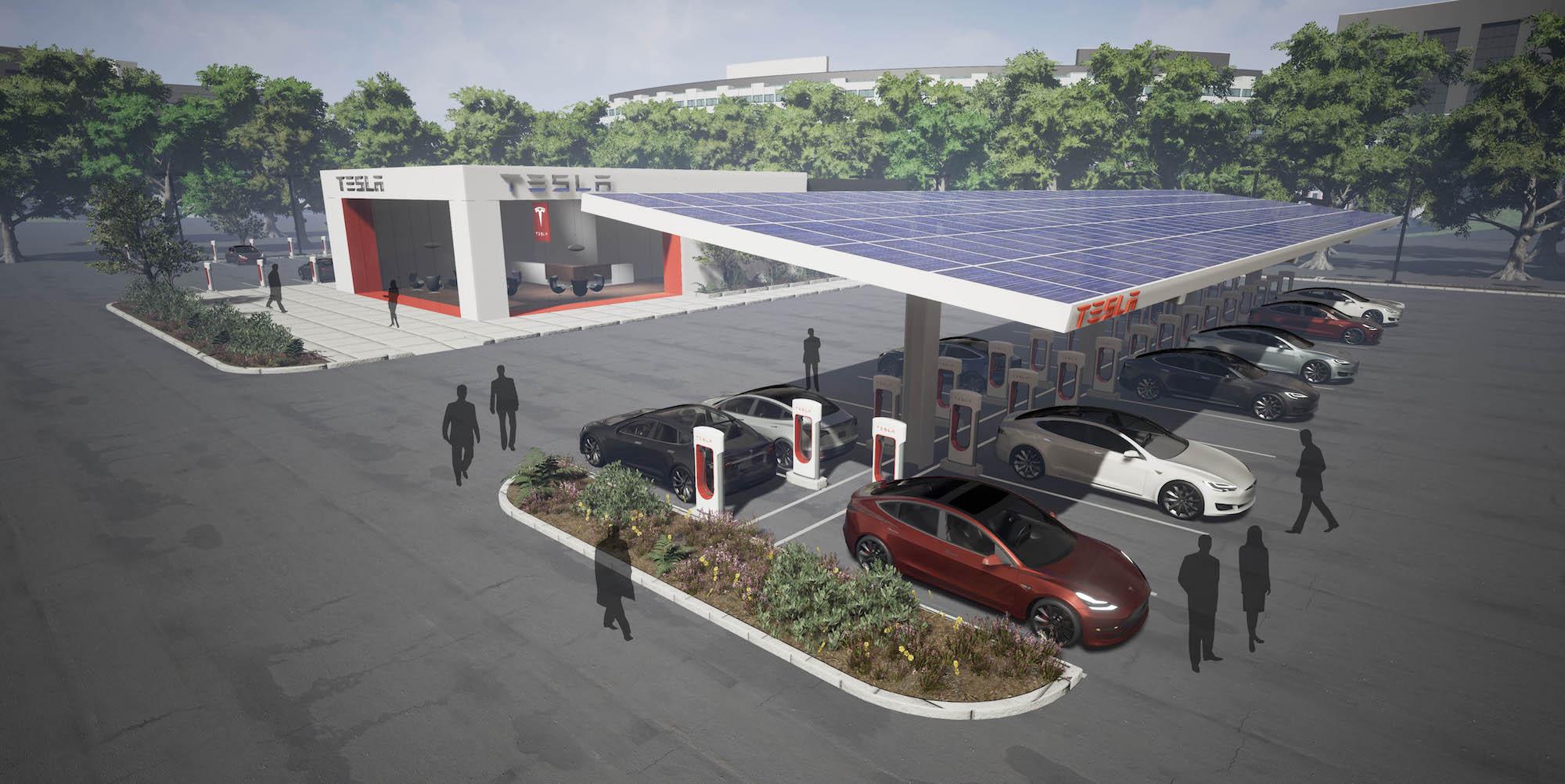 Tesla : les VTC (Uber…), taxis et livreurs n'auront plus accès aux Superchargeurs