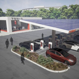 Tesla : des Superchargeurs urbains pour démocratiser la voiture électrique