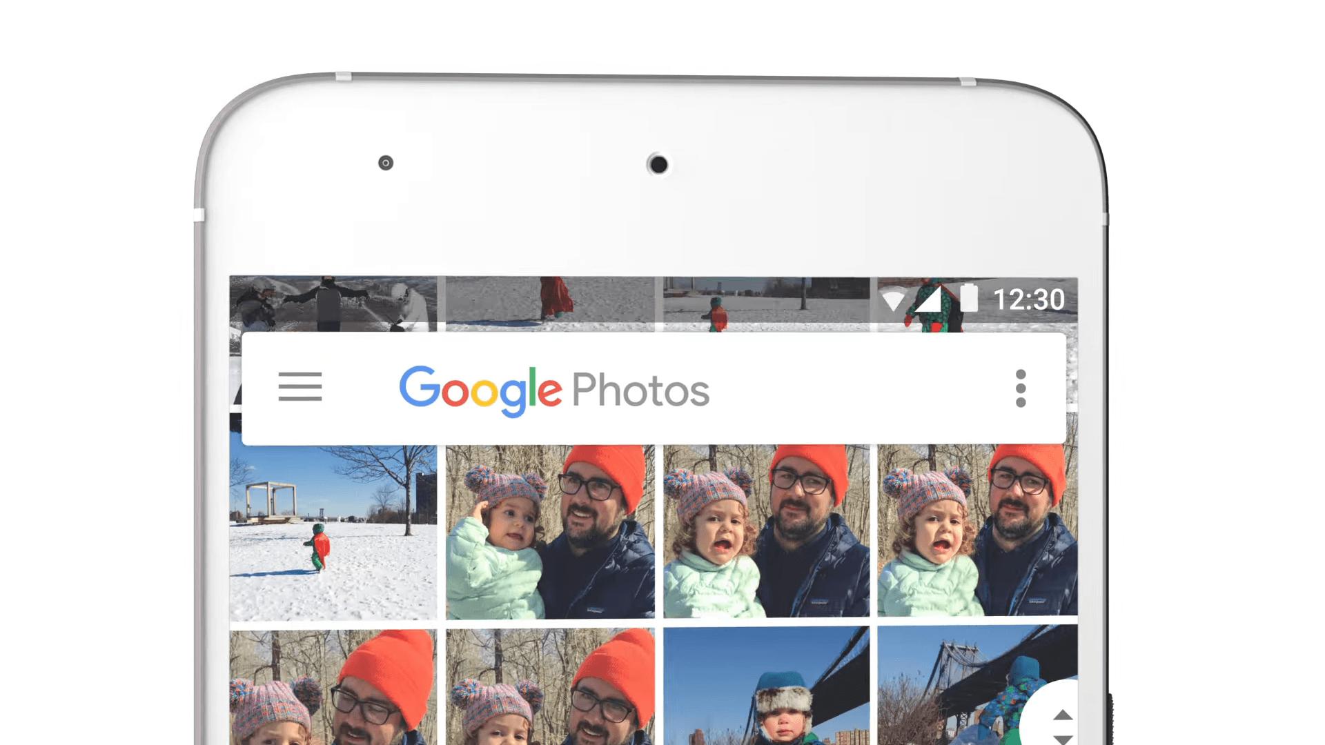 Google Photos semble miser gros sur la reconnaissance faciale