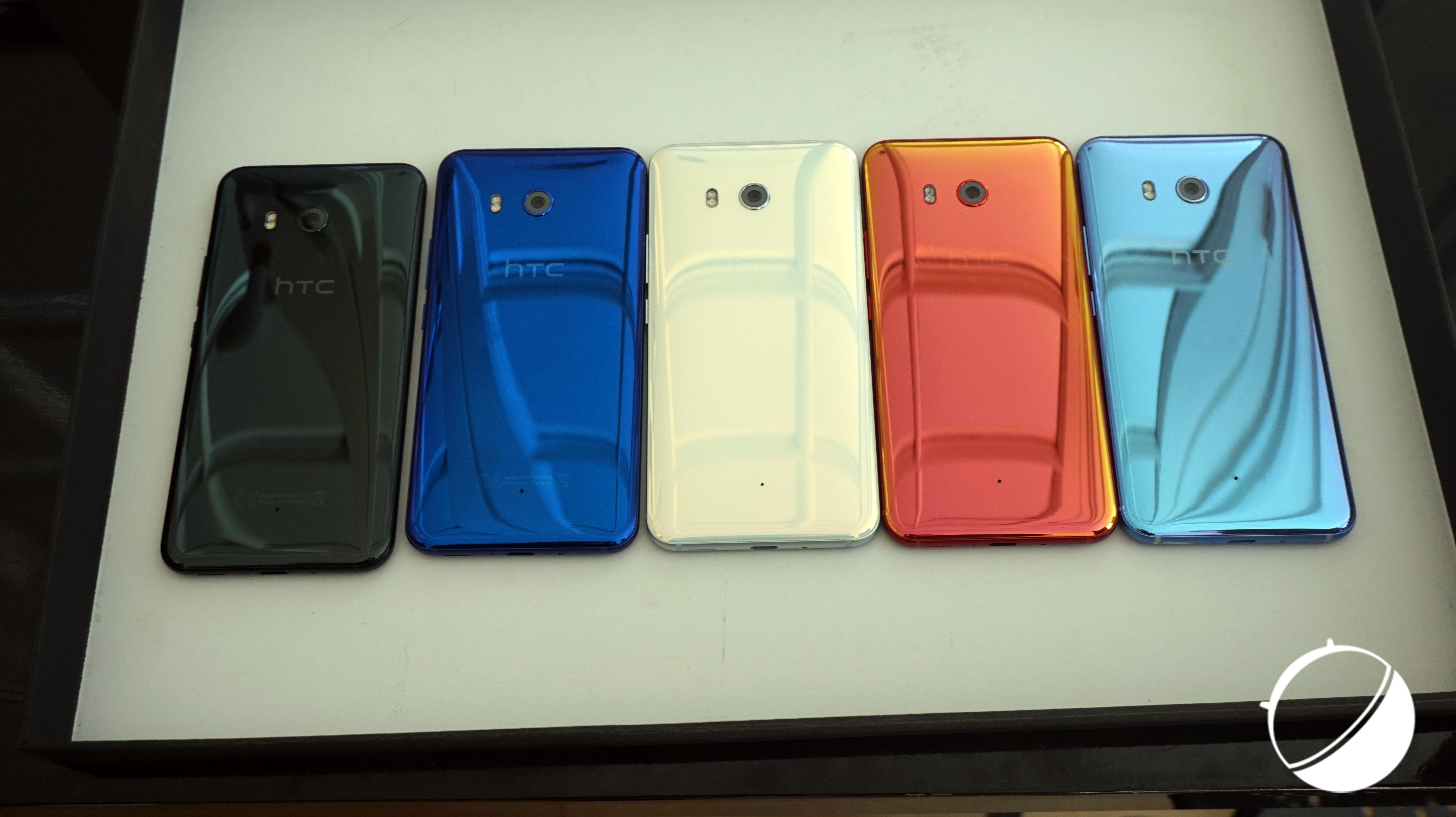 Les couleurs du HTC U11 : quand le discours marketing a du bon